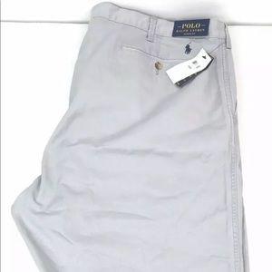 NWT Polo Ralph Lauren Mens Shorts Gray Size 48B